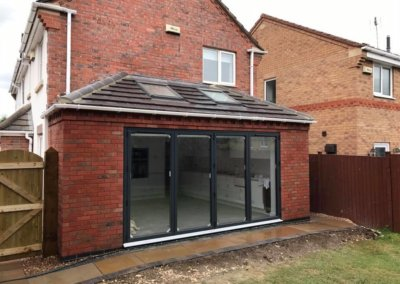 After large open plan kitchen extension